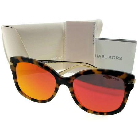 bc9efd50957e Michael Kors MK2047F-32446Q-55 Cat Eye Womens Tortoise Frame Red Lens  Sunglasses - Walmart.com