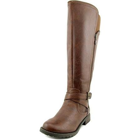 3c9480ffe0f9 GUESS - GUESS Womens Halsey Wide Calf Closed Toe Knee High Fashion Boots -  Walmart.com