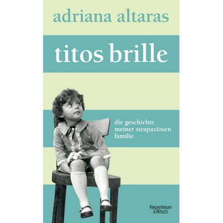 Titos Brille - eBook (Ersatz-gläser Für Brille Online)