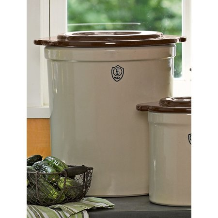 5-Gallon Stoneware Pickling Crock ()