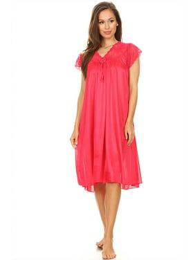 2ad10cd139 Product Image 9048 Women Nightgown Sleepwear Pajamas Woman Sleep Dress  Nightshirt Purple L. Lati Fashion