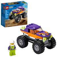 LEGO City Monster Truck 60251 Building Sets for Kids (55 Pieces)