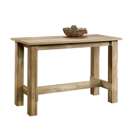 Sauder Boone Mountain Counter Height Dinette Table, Craftsman Oak Finish ()
