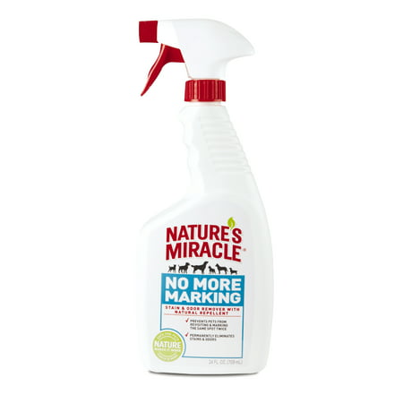 Nature's Miracle No More Marking Stain & Odor Remover with Natural Repellent Spray, 24