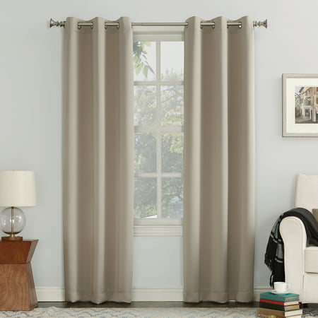 Sun Zero Nolan Energy Efficient Blackout Grommet Curtain Panel