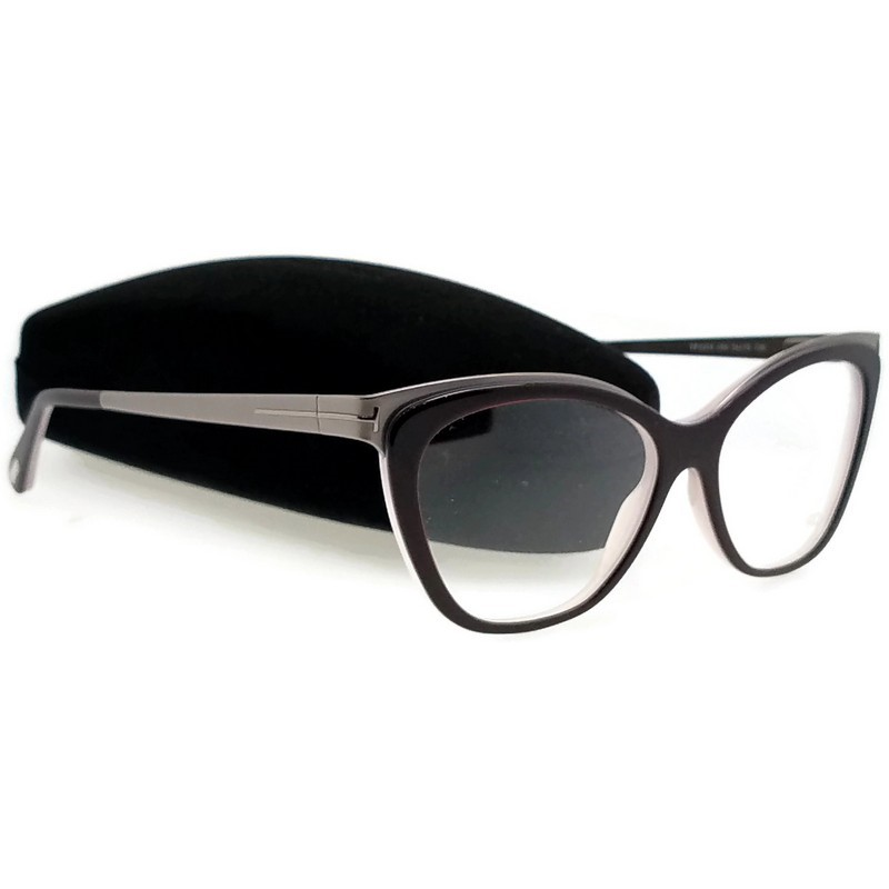 Dark Brown 54mm Cat Eye Sunglasses Taly/'s Boutique BP