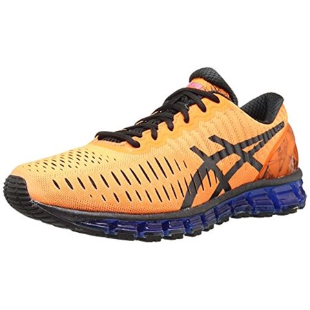 the best attitude 40148 14da5 ASICS - ASICS Men s Gel Quantum 360 Running Shoe, Hot Orange Black Blue, 9  M US - Walmart.com