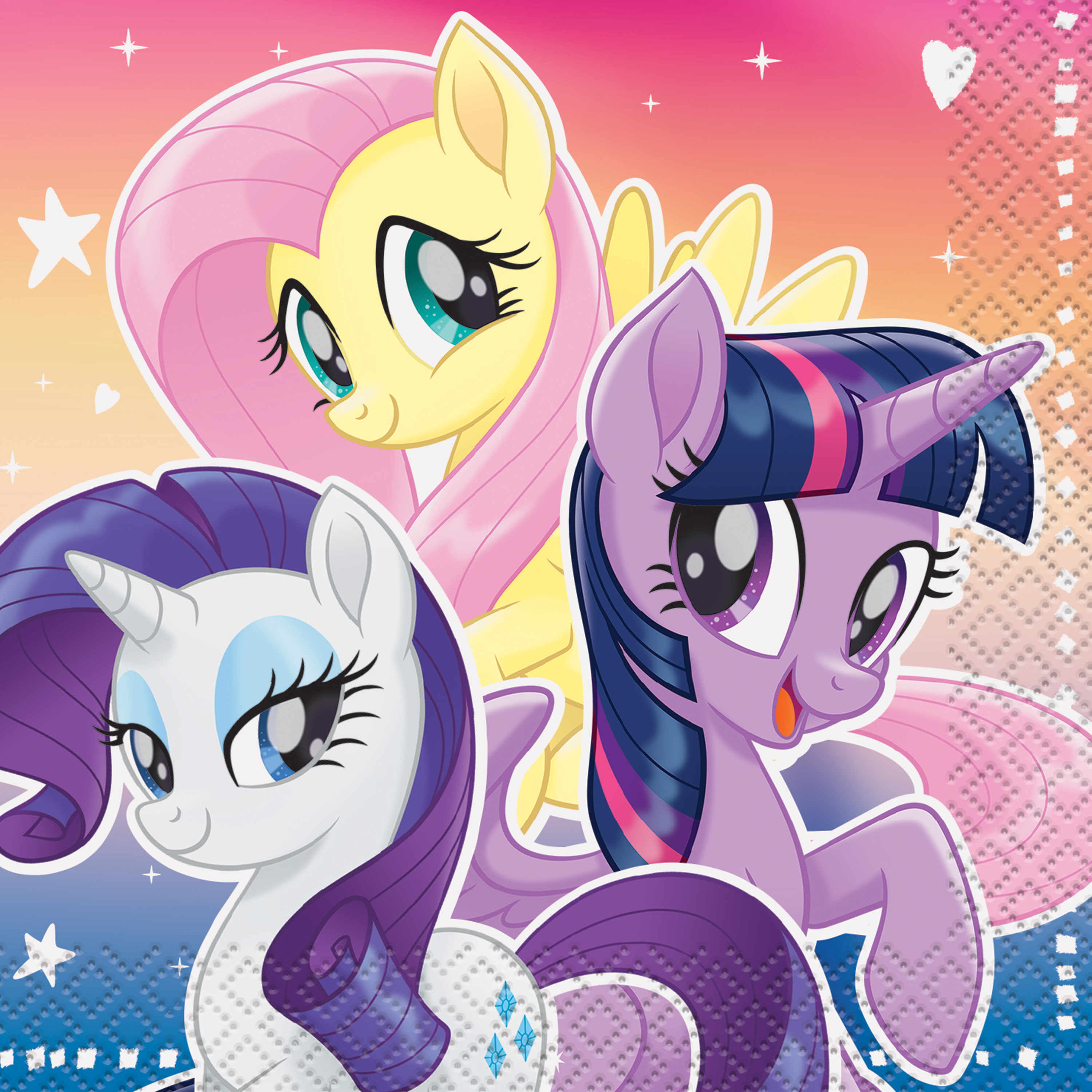 My Little Pony Beverage Napkins, 16ct