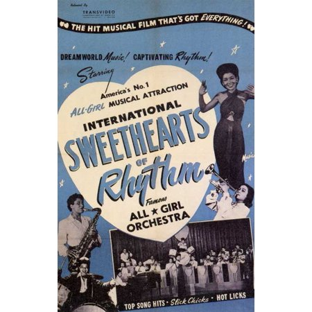 - International Sweethearts of Rhythm - movie POSTER (Style A) (11