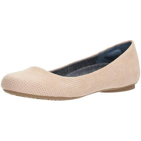 6b7da3fe8317 Dr. Scholl's Shoes - Dr. Scholl's Shoes Womens Friendly2 Fabric Closed Toe  Ballet Flats - Walmart.com