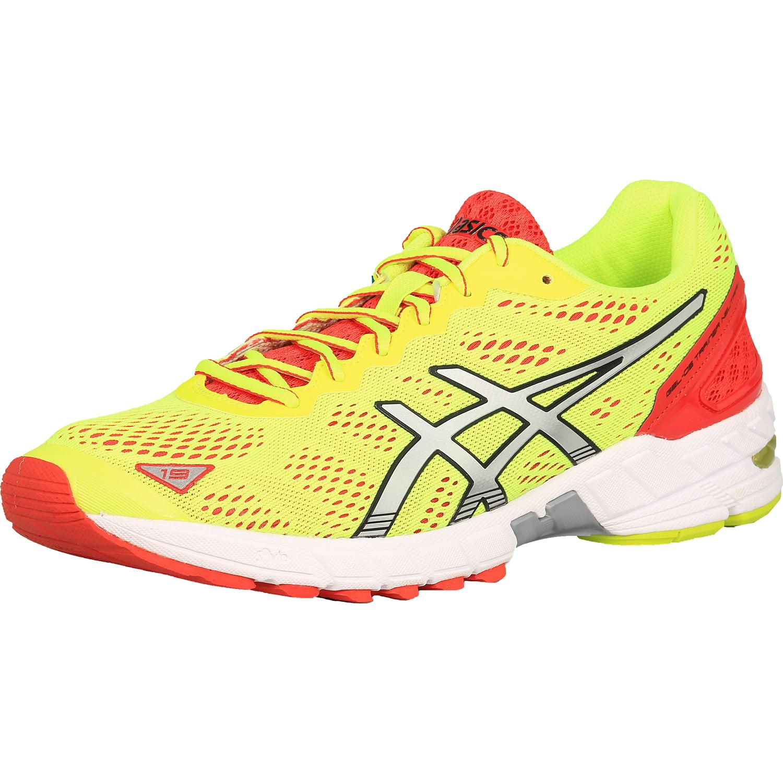 ASICS Asics Men's Gel Ds Trainer 19 Neutral Flash YellowSilverRed Ankle High Cross Trainer Shoe 10.5M