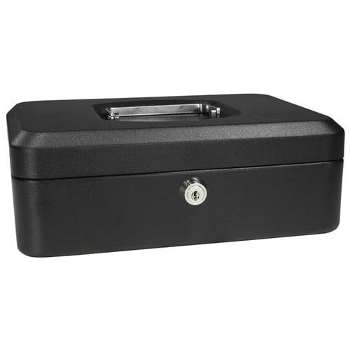 BARSKA CB11830 Cash Box,Compartments 3,2-1 4 in. H G4477621 by Barska