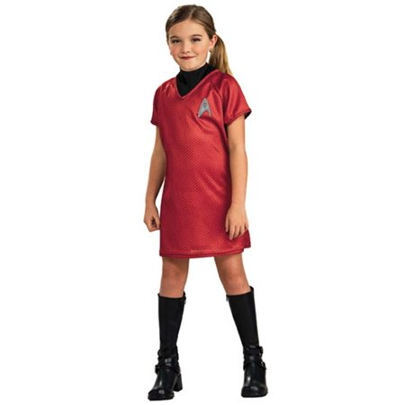 Child Red 2009 Star Trek Dress Costume Rubies 883595 - Uhura Star Trek Costume