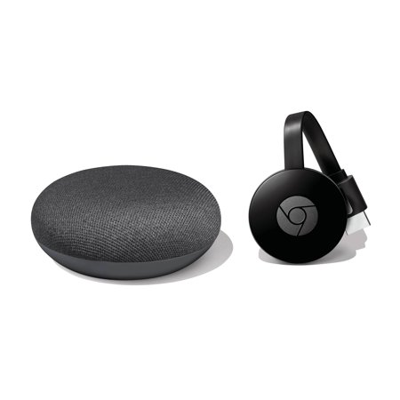 Google Home Mini and Chromecast Bundle