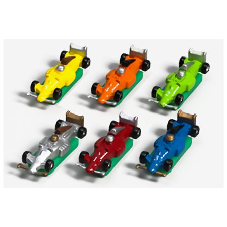 Christian Based Halloween Games (6 Speedway Formula-Style Race Cars with Bases Game)