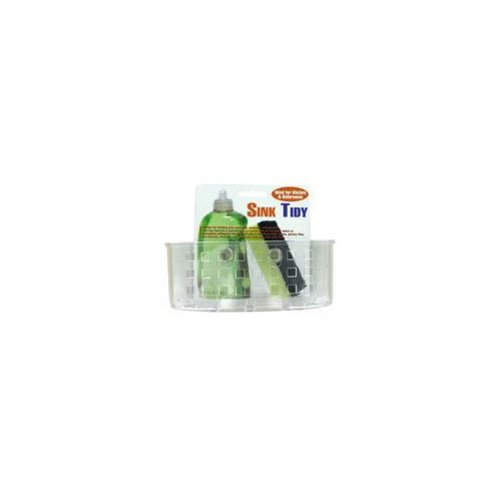 Sink Organizer with Suction Cups (12 Units Included)