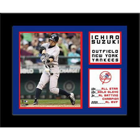 Ichiro Suzuki Frame (MLB Ichiro Suzuki Deluxe Frame, 11x14 )