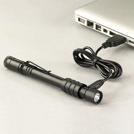 Streamlight Stylus Pro Led - Streamlight 66134 Stylus Pro Flashlight Usb Kit With Holster