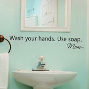 Belvedere Designs LLC Wash Your Hands Wall Quotes  Decal