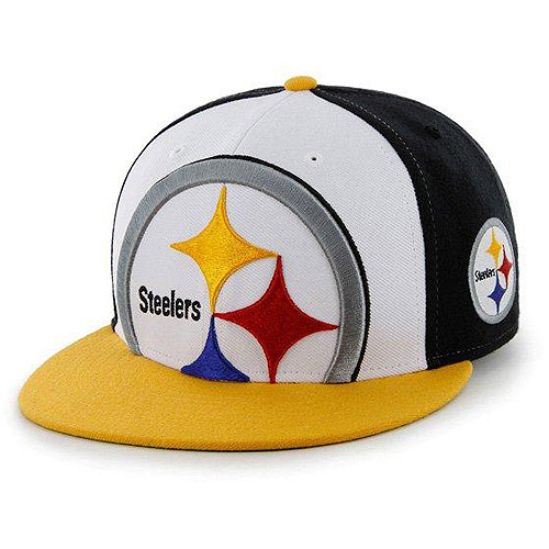 NFL Men's Steelers Flat Cap