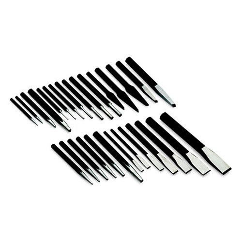 SK Hand Tool 6029 29-Piece Punch and Chisel Set by S K Hand Tools