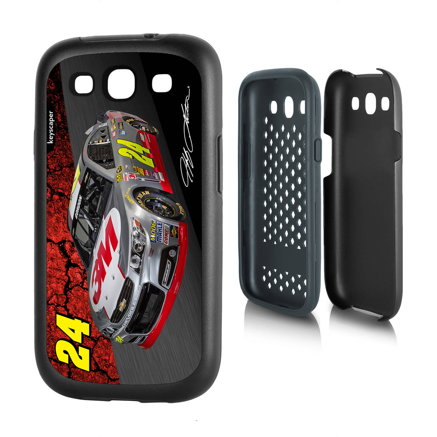 Jeff Gordon #24 Galaxy S3 Rugged Case
