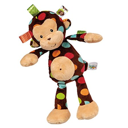 Mary Meyer Taggies Dazzle Dots Soft Toy, Monkey Mary Meyer Taggies Dazzle Dots Soft Toy, Monkey