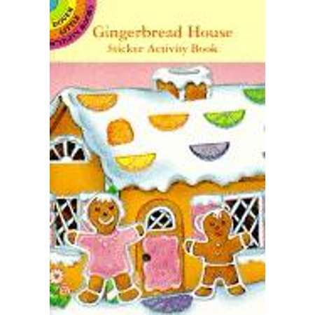 Dover Little Activity Books: Gingerbread House Sticker Activity Book (Paperback)