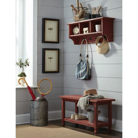 Cottage Hook - Alaterre Country Cottage Coat Hooks and Bench Set