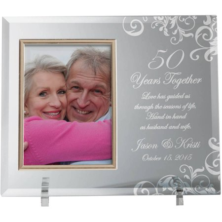 Home Run Photo - Personalized Years Together Glass Frame
