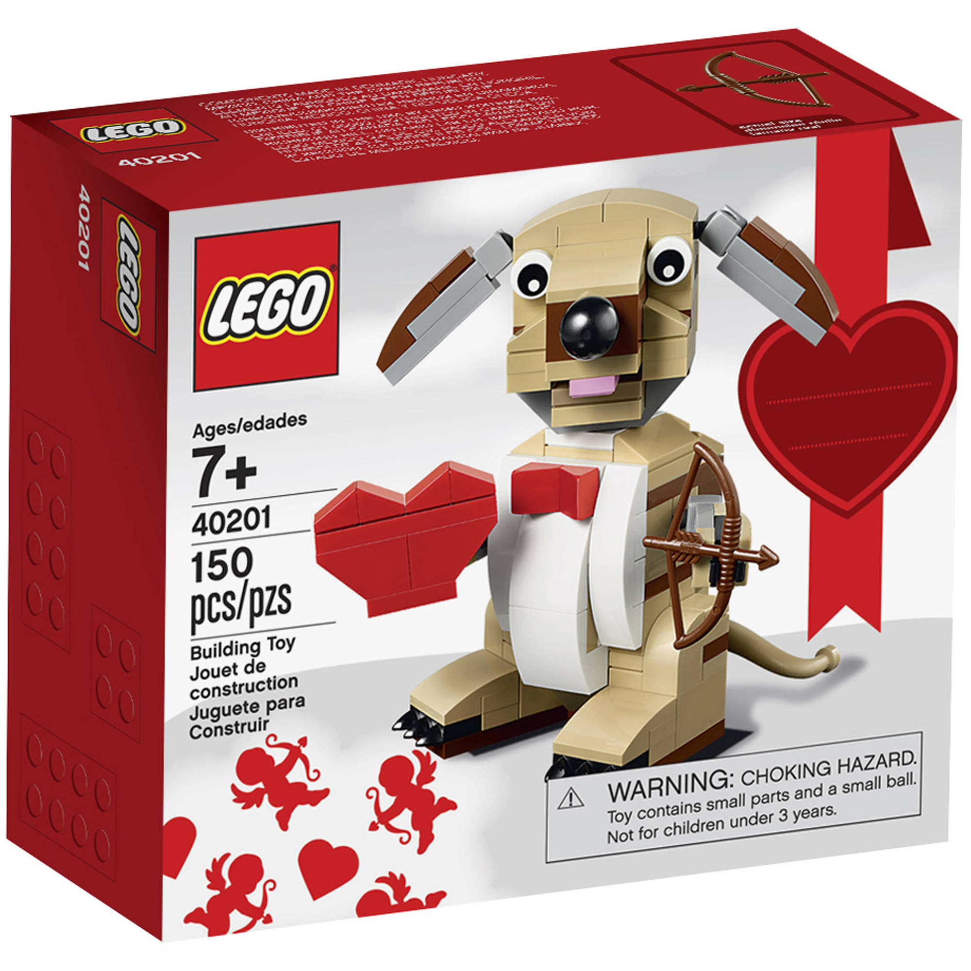 LEGO Valentine's Cupid Dog 40201