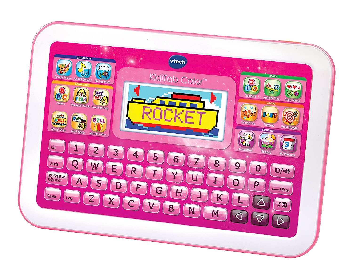 VTech KidiTab Color Play Toy, Pink by VTech Holdings, Ltd