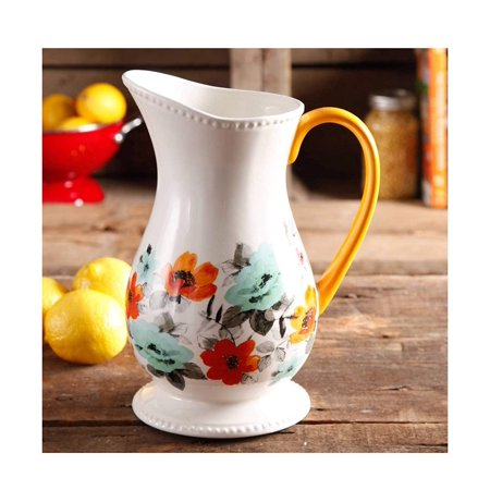 The Pioneer Woman Flea Market Decorated Floral 2-Quart Pitcher by The Pioneer Woman, The Pioneer Woman Flea Market Decorated Floral 2-Quart.., By The Poneer Woman