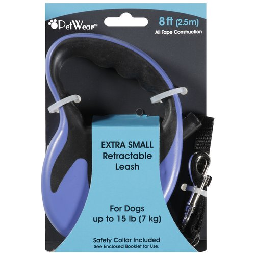 Rose America Corp. Petwear Extra Small Retractable Leash, 1ct