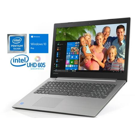 "Lenovo IdeaPad 330-15 Notebook, 15.6"" HD Display, Intel Quad-Core Pentium N5000 Upto 2.7GHz, 8GB RAM, 128GB SSD, DVD-RW, HDMI, Card Reader, Wi-Fi, Bluetooth, Windows 10 Pro"