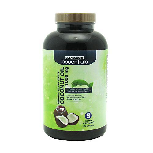 Betancourt Essentials Organic Extra Virgin Coconut Oil - 120 Softgels