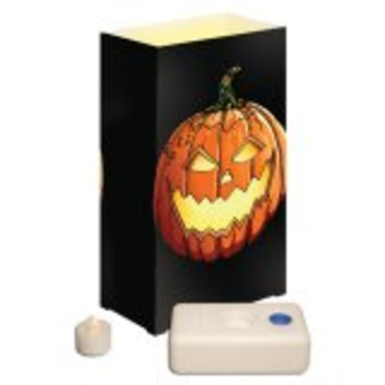 12 battery operated led flameless tea candles jack luminaria kit walmartcom