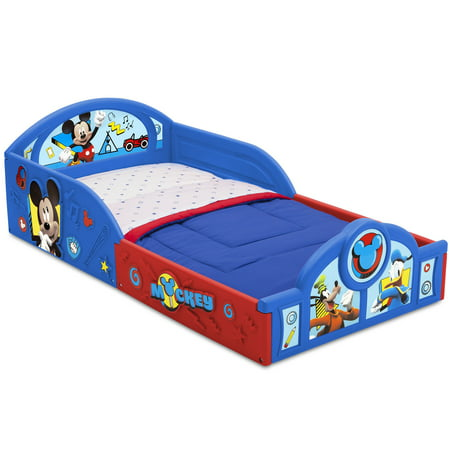 Disney Mickey Mouse Plastic Sleep and Play Toddler Bed by Delta Children - Mickey Mouse Room Ideas