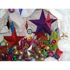 Barrango - 10 Inch Leaf Star Oversized Ornament