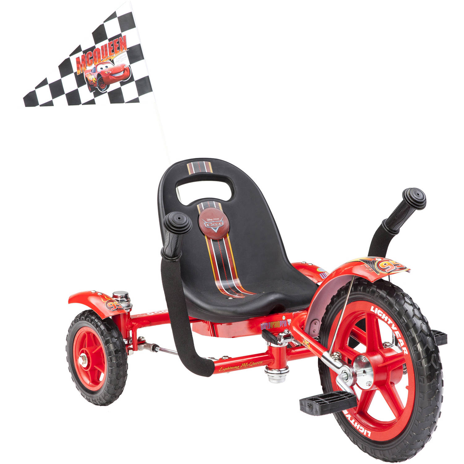 Mobo Tot Disney Cars Lightning McQueen: A Toddler's Ergonomic 3-Wheeled Cruiser