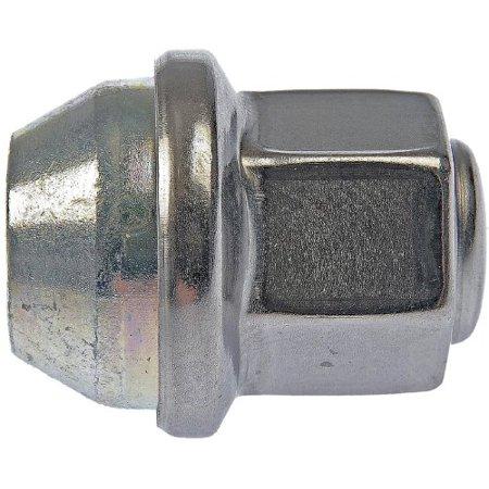 Dorman 611-258 M12-1.50 Wheel Cover Retaining Nut - 19mm Hex, 28.5mm Length (Box of 10)
