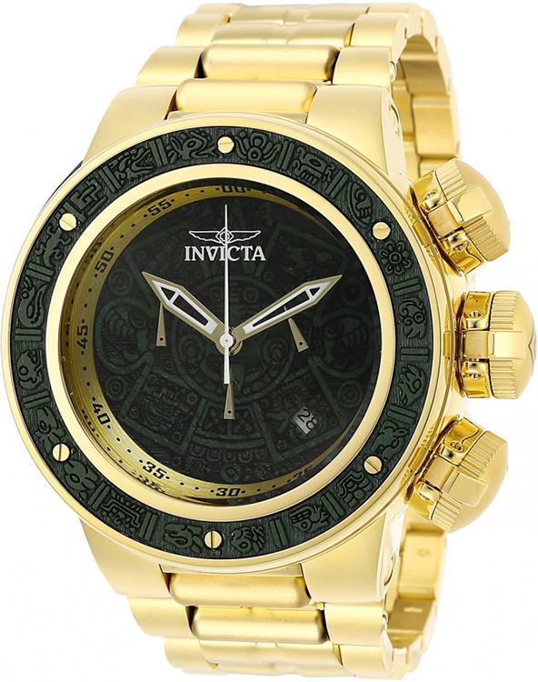 Invicta Men's Subaqua Quartz 200m Gold Tone Stainless Steel Watch 28253