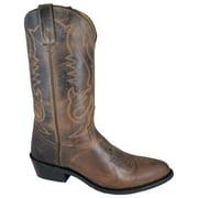 "Smoky Mountain Men's 12"" Denver Brown Western Boots 4435"