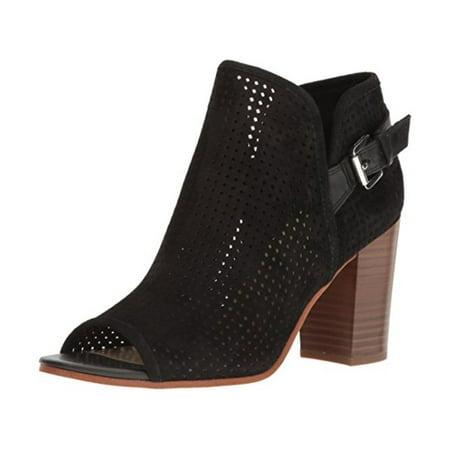 fd4939440 Sam Edelman - Sam Edelman Womens Easton Suede Perforated Ankle Boots -  Walmart.com
