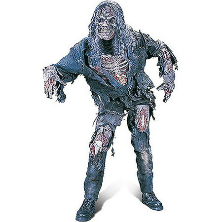 Zombie Adult Halloween Costume - Plus Size Zombie Costumes