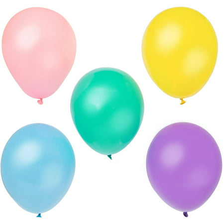 Latex Balloons, 12 in, Pastel, 10ct (Pastel Balloons)