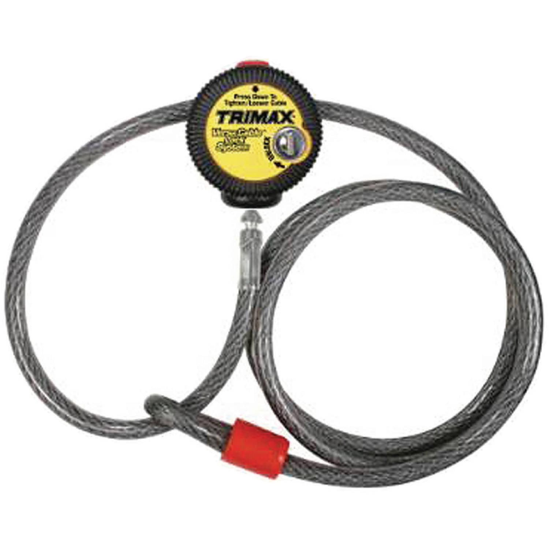 Trimax VMAX6 6' x 10mm Multi-Use Versatile Cable Lock 6' x 10mm