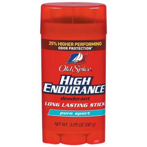 Old Spice High Endurance Deodorant Pure Sport 3.25 oz