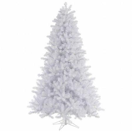 Vickerman 7.5' Crystal White Pine Artificial Christmas Tree, Unlit
