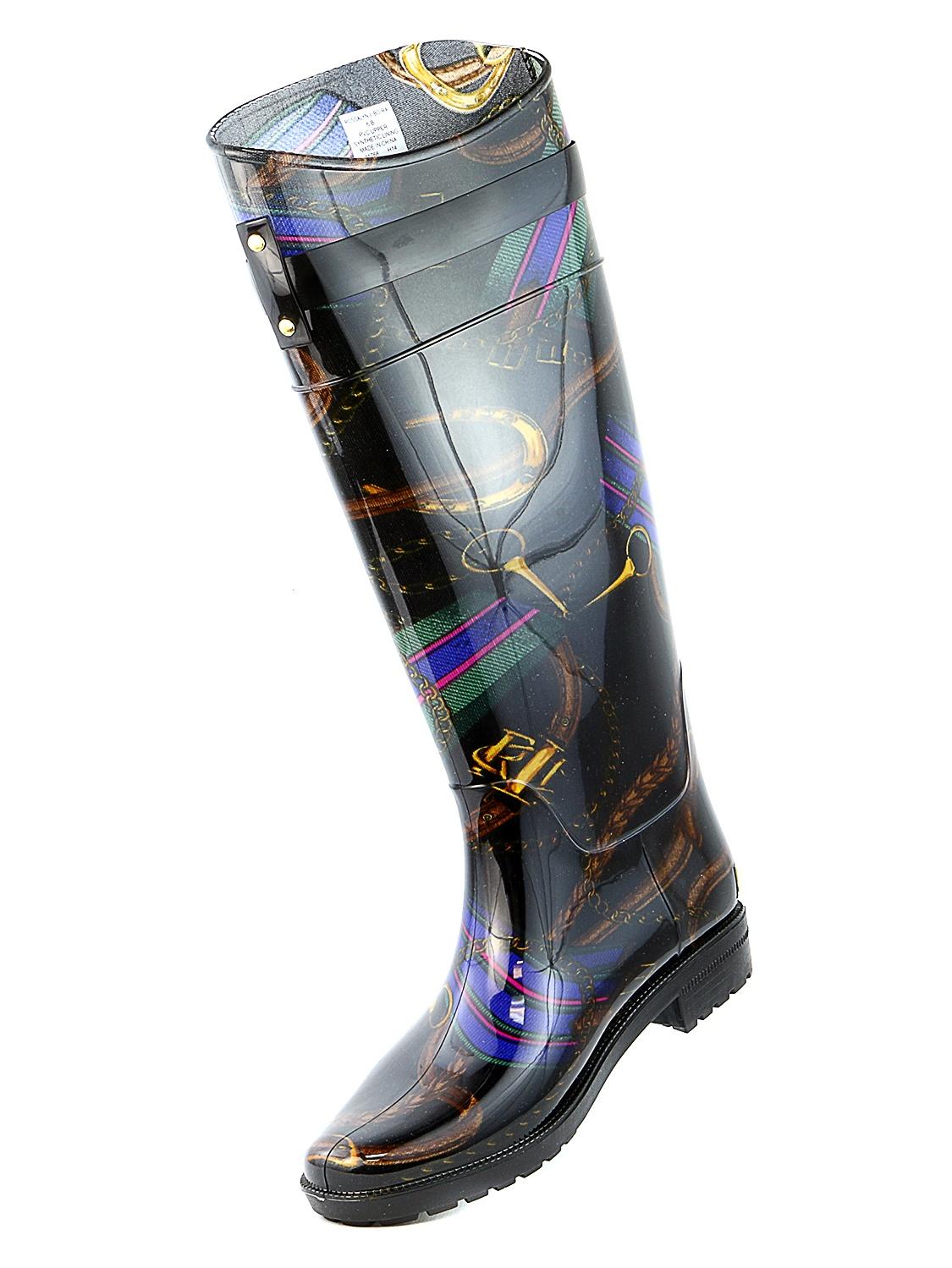 0a323ef833a LAUREN Ralph Lauren Rossalyn 2 PVC Knee High Rain Boot - Womens